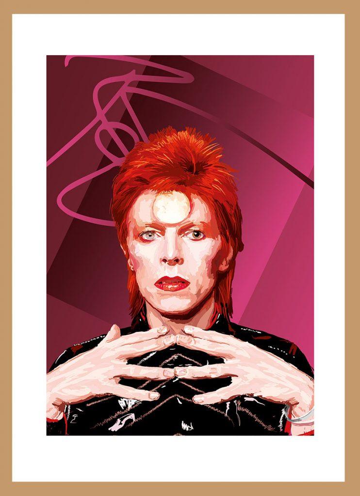 David Bowie by Nicholas Reddyhoff