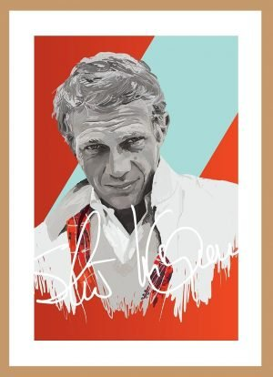 Steve McQueen (signature) by Nick Reddyhoff