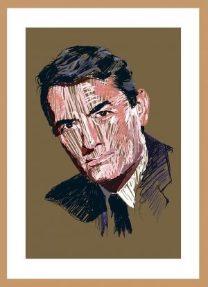 Gregory Peck by Nick Reddyhoff