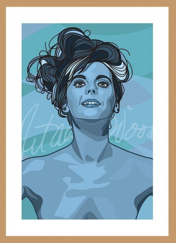 Natalie Wood by Nick Reddyhoff