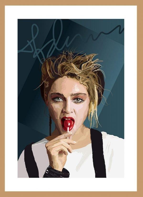 Madonna by Nick Reddyhoff