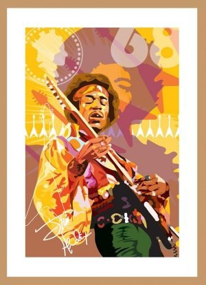 Jimmy Hendrix by Nick Reddyhoff