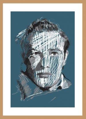 Marlon Brando by Nick Reddyhoff